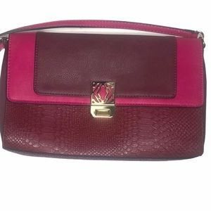Kate Landry Leather Handbag Purse New Without Tags